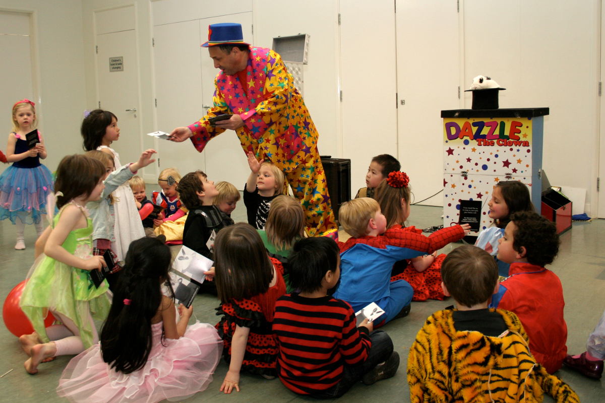 The Actual Magic to be a Kid's Entertainer